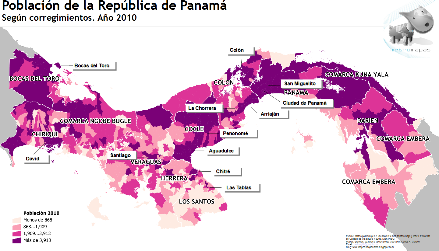 population in Panama