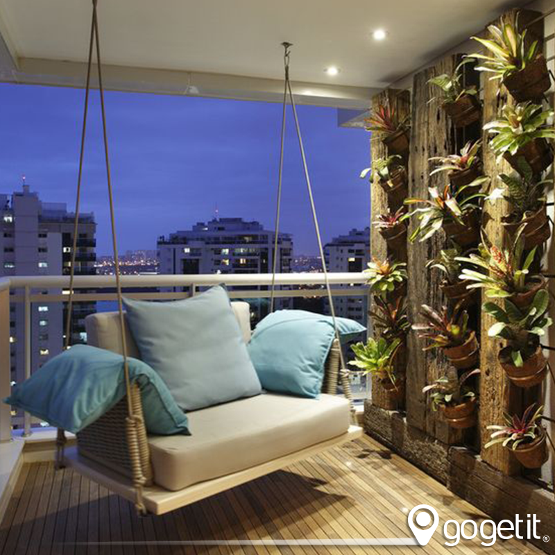 Terrace Decoration A Space Of Relax And Confort